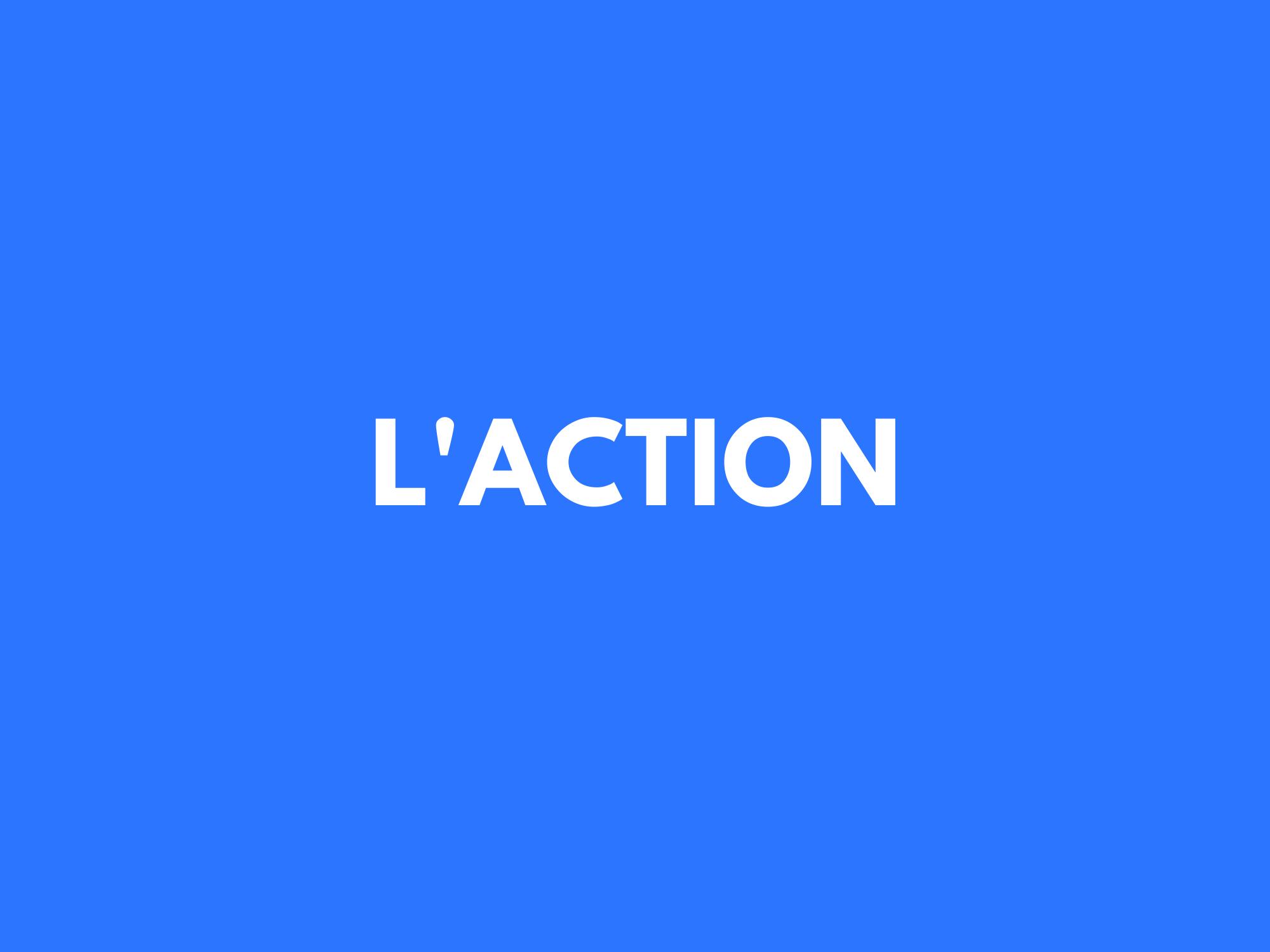 #24. L'action est le remède.