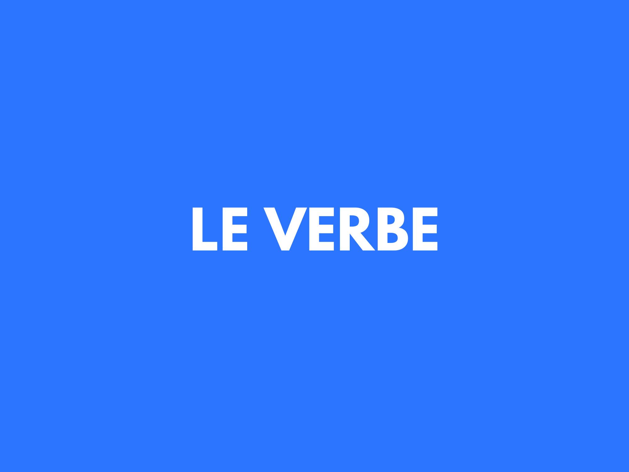 #8. Pratique le verbe avant de revendiquer le nom.